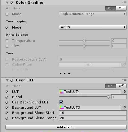 Unity Post Pro v2 User LUT And Z Grading - UnityList